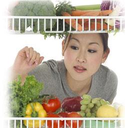 食の安全性を気にする大阪の主婦